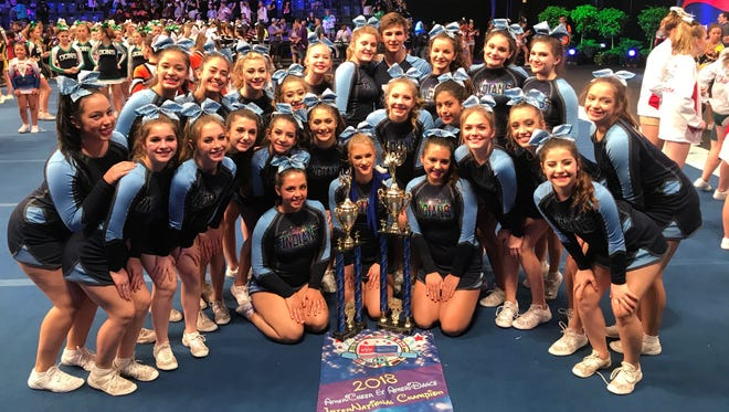 Wayne Valley took home gold at the Americheer International Championships in Orlando, Fla. last weekend.