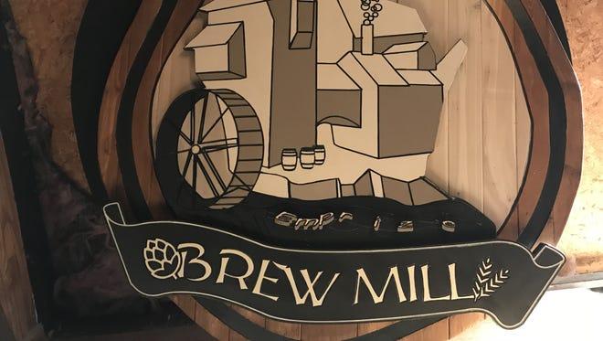 Brew Mill sign in Menasha