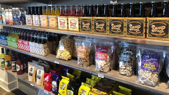 Cajun Crate Market recently opened in downtown Lafayette. The micro-market offers only Louisiana products and the occasional lunch.