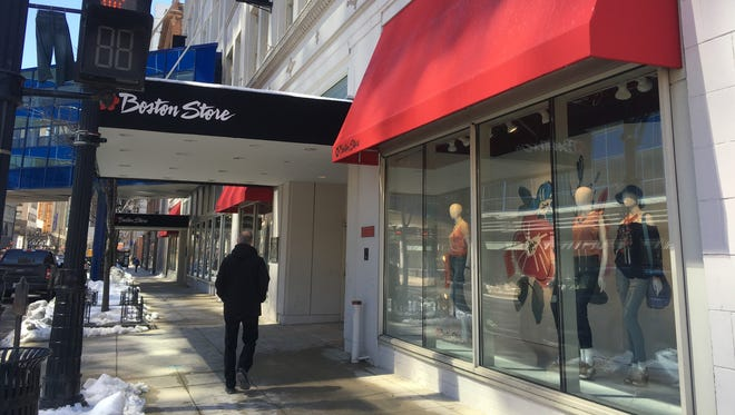 Going-out-of-business sales for Bon-Ton Stores Inc. department stores, including Boston Store, start Friday.