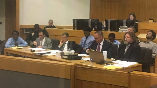 Jury selection has begun in the first trial against men accused of being part of a Fort Myers-based gang known as the Lake Boyz. James Brown, Kwameaine Brown, Eric Fletcher and Diante  Davis are the first of at least 22 men who will face trial for accusations of being in a gang.