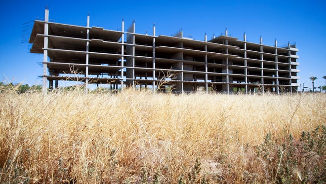 The failed Elevation Chandler development is a prominent blot on the city's horizon. Chandler residents are asked to keep their eyes out for eyesores such as this to share with us.