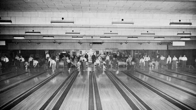 """Spartan Lanes, built by O.D. """"Dick"""" Maury in the 1940s, was home to many Lansing bowling leagues."""