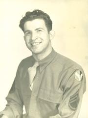 World War II veteran Richard Thomas.