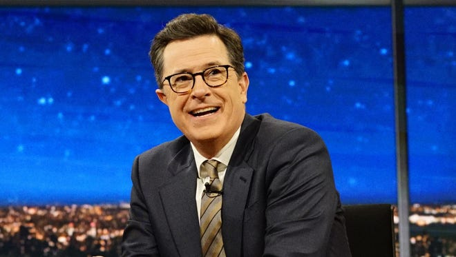 """If the Reality Winner story sounds like a James Bond movie, Stephen Colbert says that makes Donald Trump """"Smallfinger."""""""