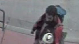 Marathon County Crime Stoppers is trying to determine who physically assaulted a special needs individual on June 26, at the Metro Ride Transit Center, in Wausau. It's believed that the suspect was a white male, with dark hair parted to the right and a full beard and mustache, was about 5 foot,10 inches tall, weighing about 150 pounds, and was wearing a black-bodied jacket with red sleeves.
