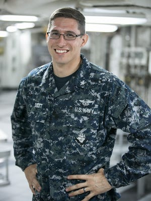 Petty Officer 3rd Class Kevan Scott