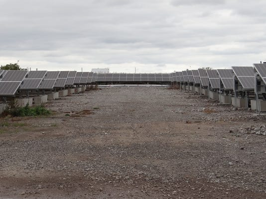 City solar farm