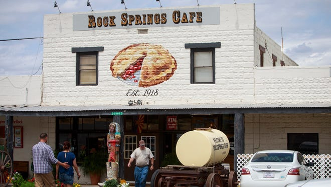 Today, Rock Springs has 51 employees, including a cafe, pie bakery, general store, saloon, a single bed-and-breakfast tourist cabin and a gas station.