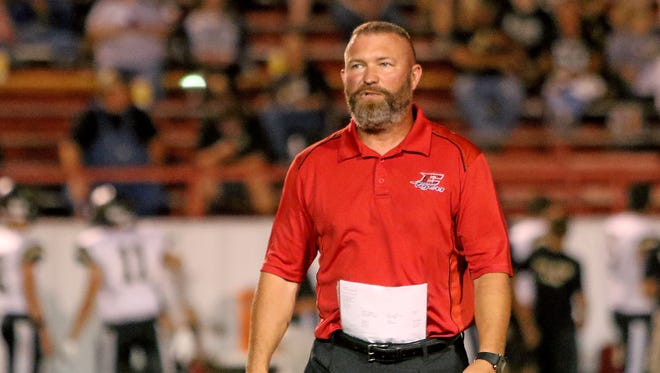 Brian Ramsey was hired as head football coach and athletic director at Merkel after two seasons at Electra.