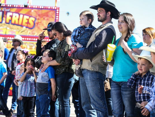 San Angelo Stock Show & Rodeo carnival