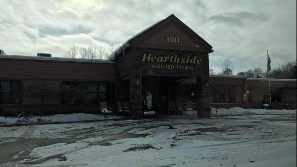 Hearthside Assisted Living facility, as pictured.