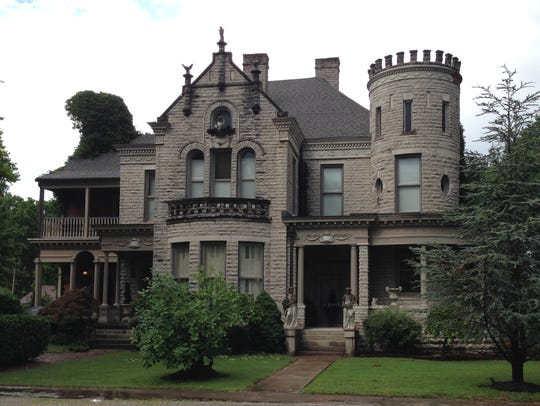 The home known as the Guthrie Castle was reportedly