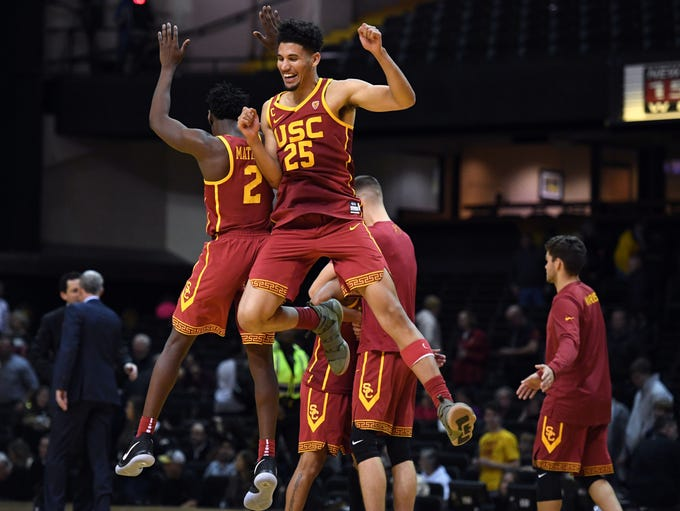 Southern California Trojans forward Bennie Boatwright
