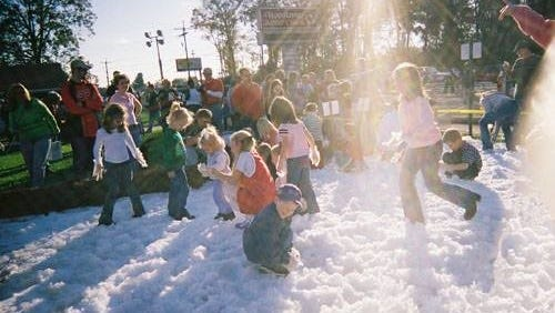Unitech will have snow for kids to play in Dec. 10.