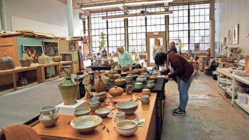 Taylors Mill has become an arts destination.