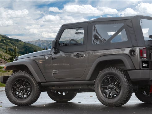 Jeep offers the World War II look on this special edition of Wrangler