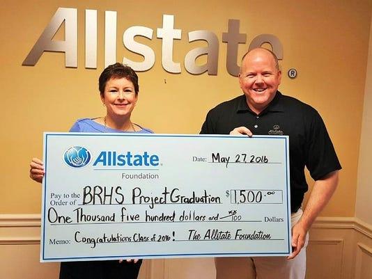 Bridgewater Allstate agent Todd Baumann