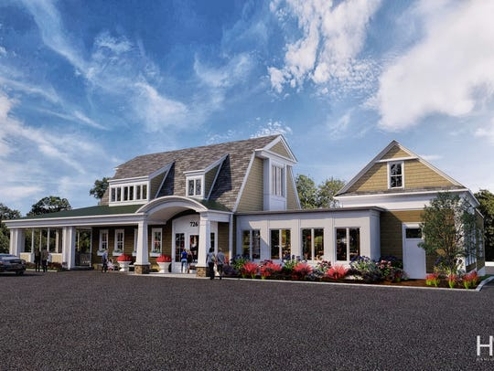 A rendering of Nolan's on Canandaigua Lake.