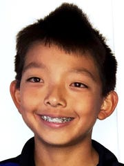 Aidan Kim, a seventh-grader, attends Muir Middle School in Milford.