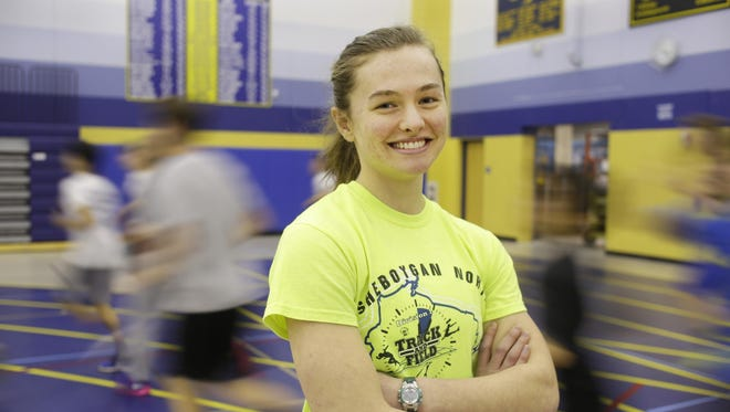Sheboygan North senior Anya Anthan is a state-caliber runner in the 400 meters, who will be attending UW-Milwaukee next year on a track and field scholarship.