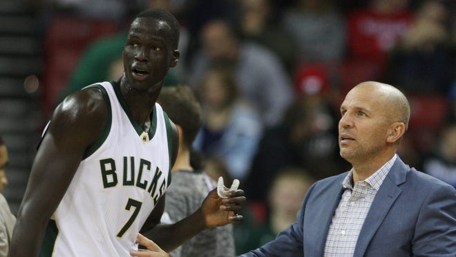 Milwaukee Bucks head coach Jason Kidd saysa there is nothing wrong with playoff nervousness.