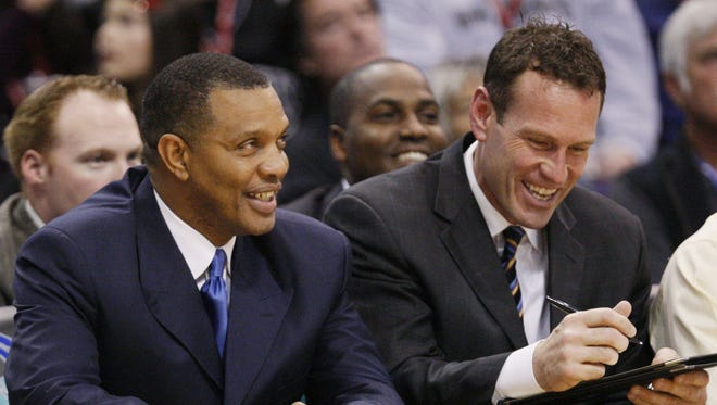 Before coaching at Grand Canyon, Dan Majerle was a Suns assistant coach under Alvin Gentry.