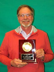Jeff Held, an Oakfield, WI native and now Professor