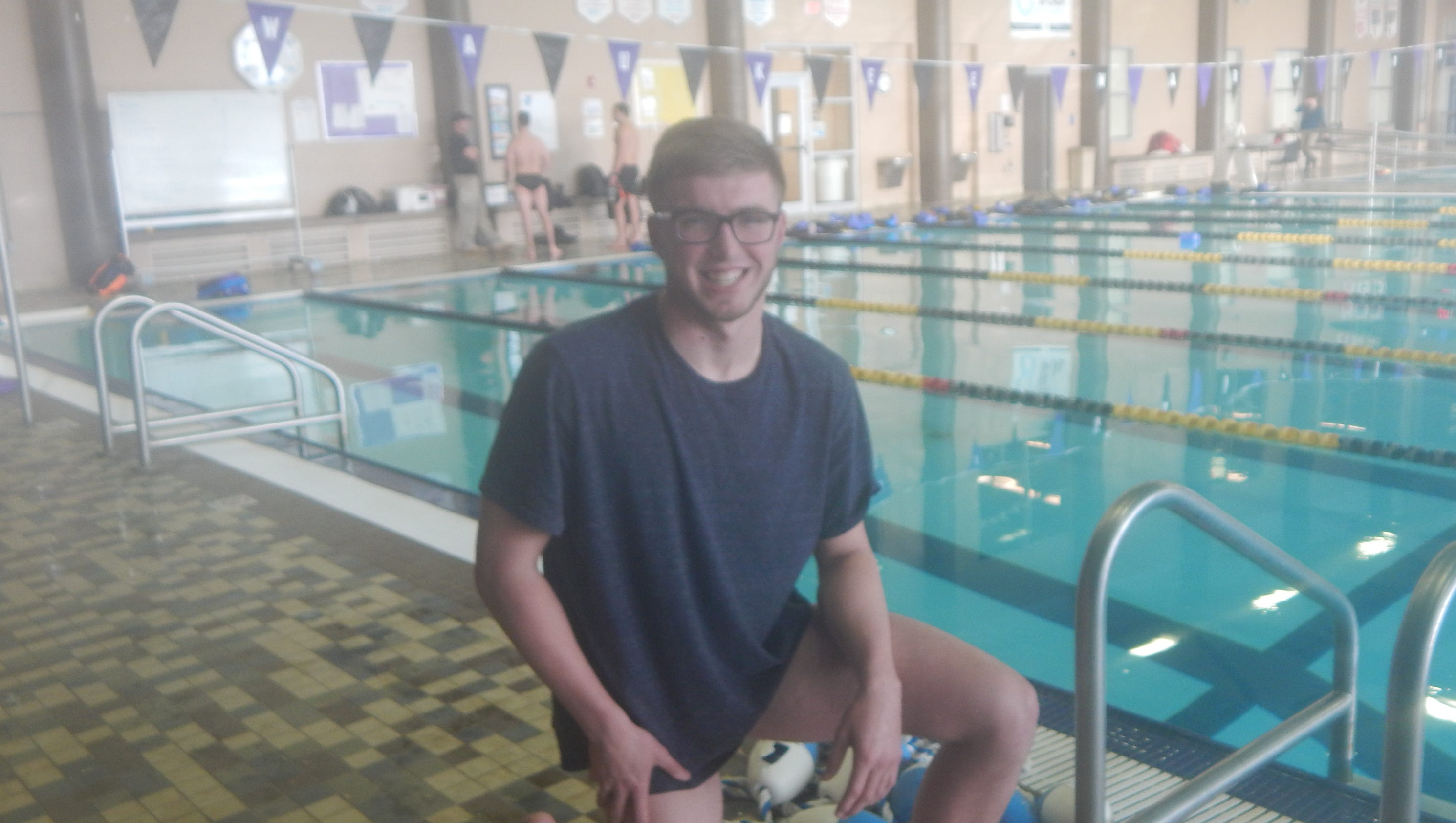 Waukee southeast polk boys swim for a cure for Rogers high school swimming pool