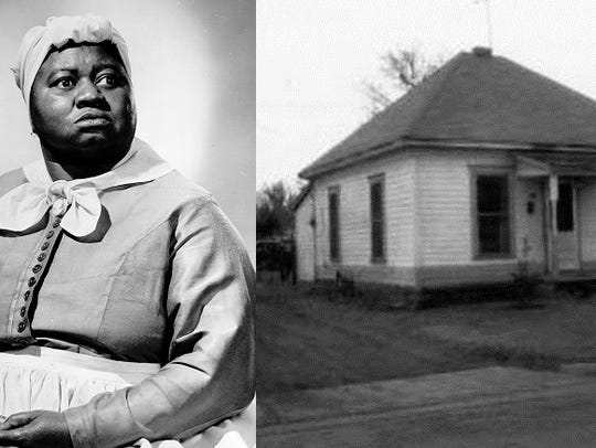 Hattie McDaniel spent some of her early childhood in