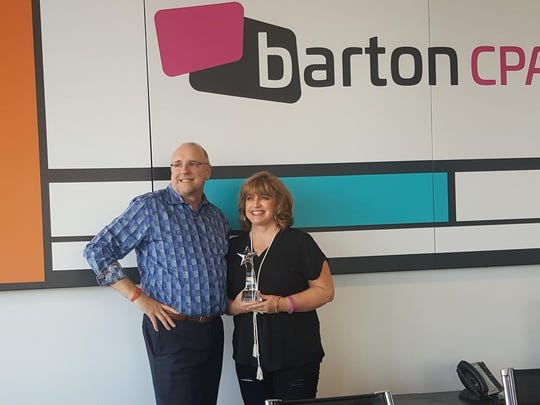 Greg and Dee Dee Barton, owners of Barton CPA.