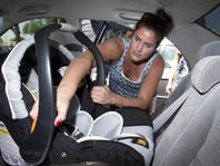 Parents learn car-seat safety