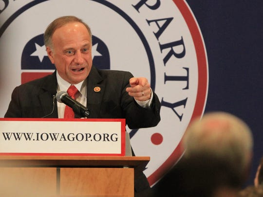 U.S. Rep. Steve King, R-Kiron, has a long history of making controversial comments.