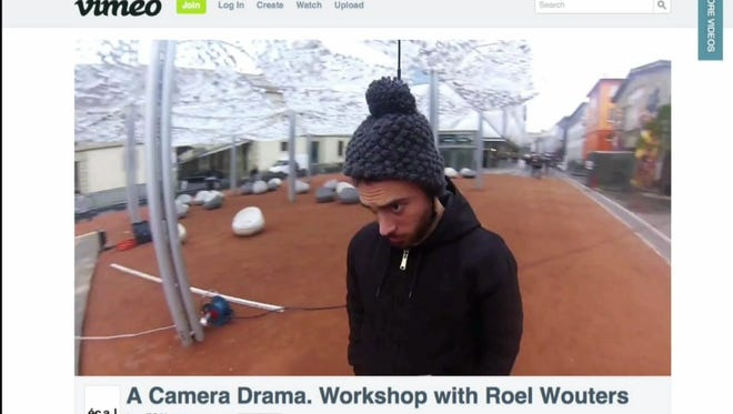 Students in Switzerland created a workshop video showing ideas of how to record video in innovative ways.