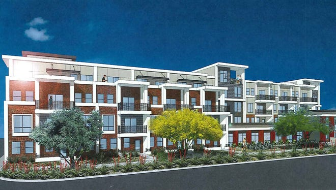 Alta Osborn project: Wood Partners proposes building a four-story, 277-unit residential complex at 3220 N. Scottsdale Road in south Scottsdale.