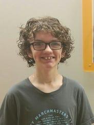 Liam Reinier, Valley High School junior