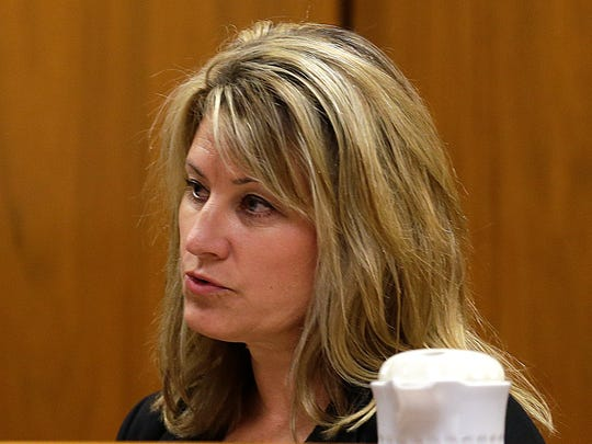 Shelly Fisher, a detective with the Waukesha Police Department, describes her hospital interview with Payton Leutner, the victim in the Slender Man stabbing case. Fisher testified Wednesday (Sept. 13, 2017) in the trial of Anissa Weier.