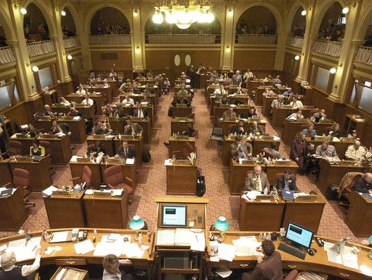 legislature -diversity -house chambers