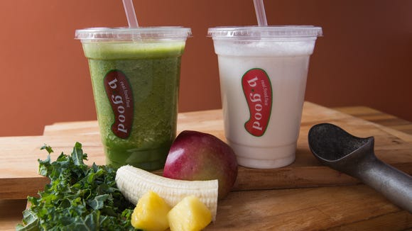 B.Good smoothies include seasonal options.
