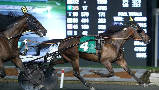 Pinkman, the favorite for Saturday's Kentucky Futurity at The Red Mile