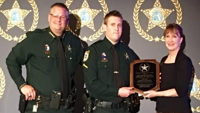 Nick Worthy received the Deputy of the Year award in 2016.