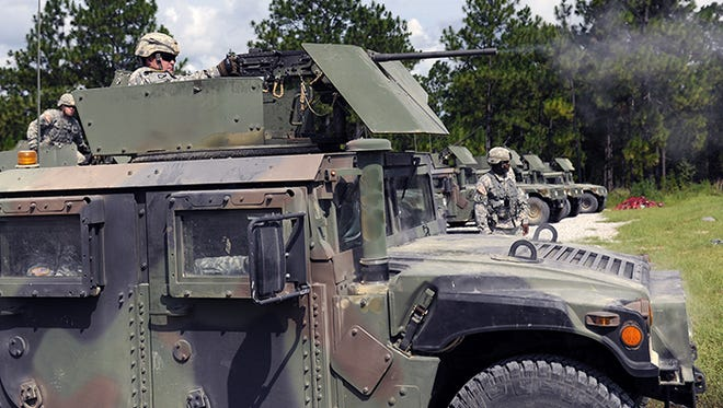Camp Shelby Joint Forces Training Center.