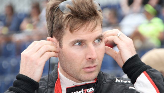 Will Power suffered a concussion during IndyCar's weekend event in St. Petersburg, Fla.
