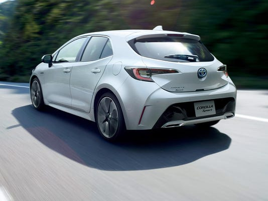 Toyota S Fully Redesigned Corolla Sport Hatchback Began Ing In An On Tuesday June 26 2018 Photo