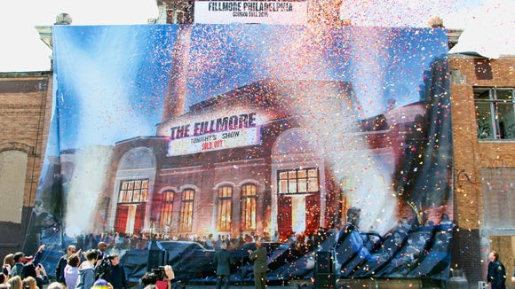 The unveiling of plans for the new Fillmore Philadelphia in Fishtown in April.