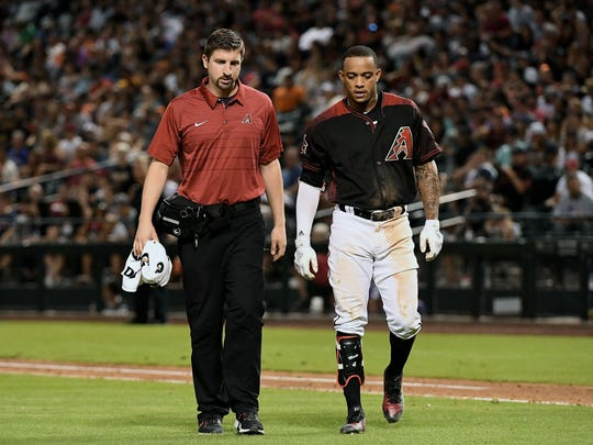 Jun 30, 2018; Phoenix, AZ, USA; Arizona Diamondbacks