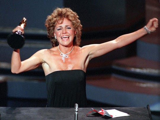 Field at the 1985 Oscars, where she won her second