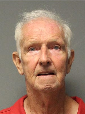 Geoffrey Stratton was booked into the Yavapai County Sheriff's Office jail after police said he shot his roommate.