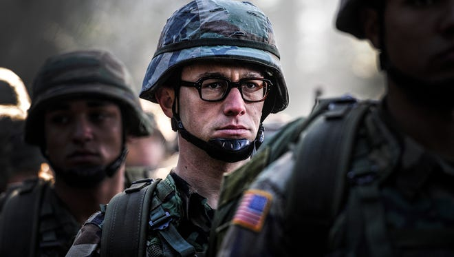 "Joseph Gordon-Levitt plays the title character in the biopic ""Snowden."""