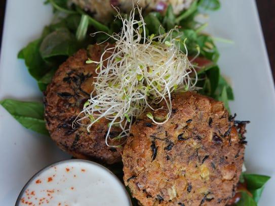 Sea and Earth Salad at Graze.